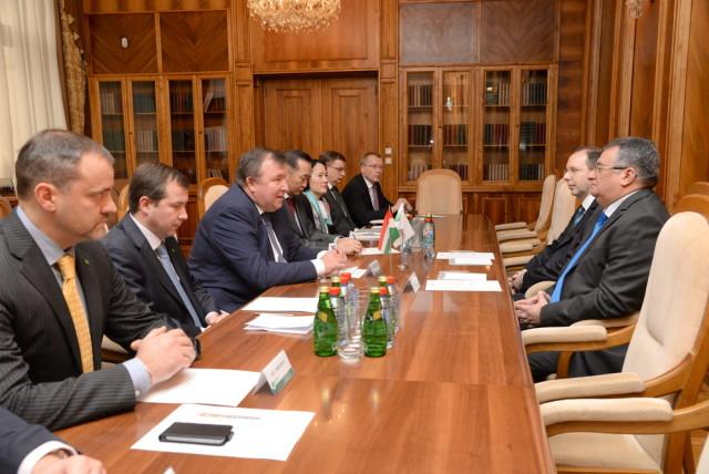 Visit of the Ambassador of Hungary