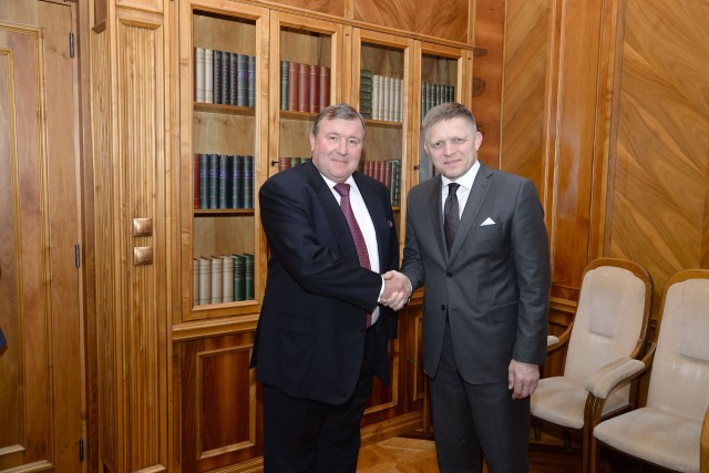 Meeting with the Prime Minister of the Slovak Republic, Robert Fico