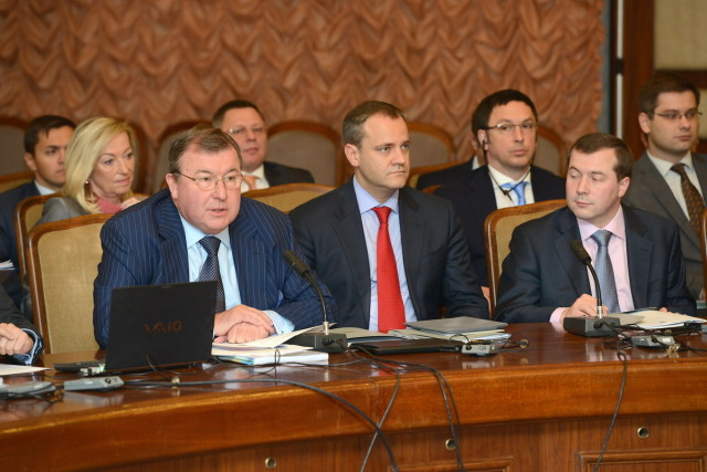 Working meeting of the IIB with heads of delegations of member states