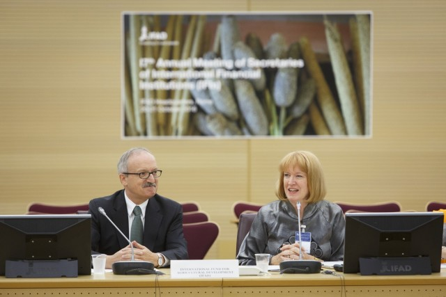17th annual meeting of the secretaries general of the international financial institutions (IFIs), Italy, Rome