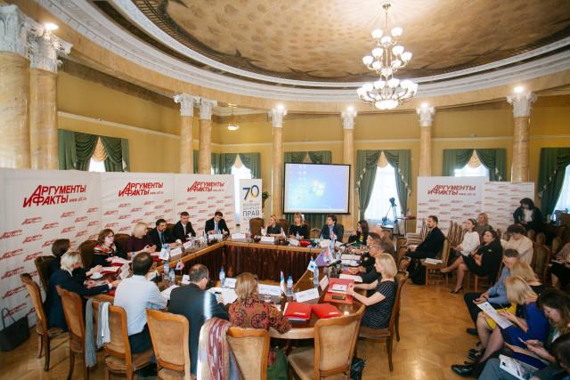 ООН провела круглый стол, посвященный 70-летию работы  в России и теме расширения сотрудничества с бизнесом