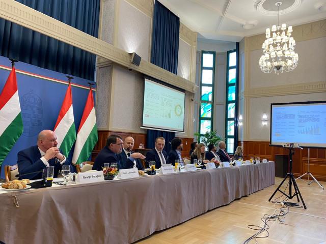 МИБ  при поддержке Министерства иностранных дел и торговли Венгрии презентовал свои возможности венгерским экспортёрам