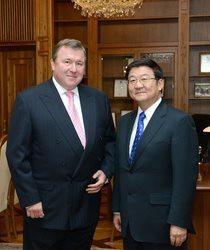 Встреча в МИБ - Монгольские перспективы