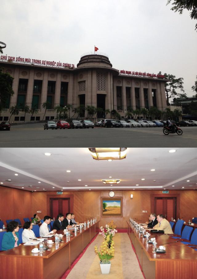 International Investment Bank's day in Vietnam