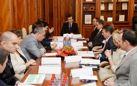 The Head of the Czech Delegation visited IIB