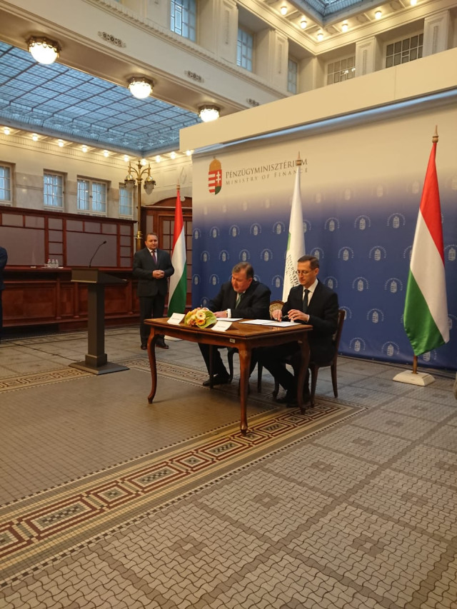 Relocation of IIB headquarters to Hungary: Host Country Agreement is signed