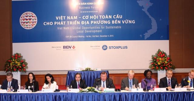 МИБ подводит итоги «Года Азии» - завершилось 104-е заседание Совета Банка во Вьетнаме, в рамках которого проведен международный деловой форум