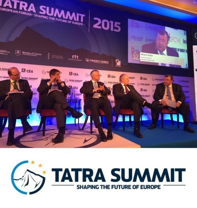 Chairman of the IIB Board gave a speech at TATRA SUMMIT Investment Forum 2015