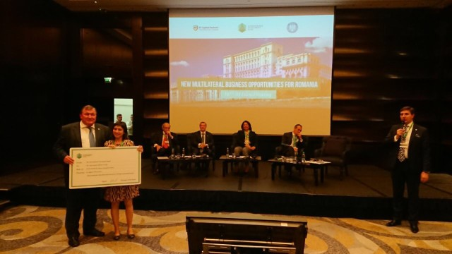 IIB provided an ecological grant for Romania