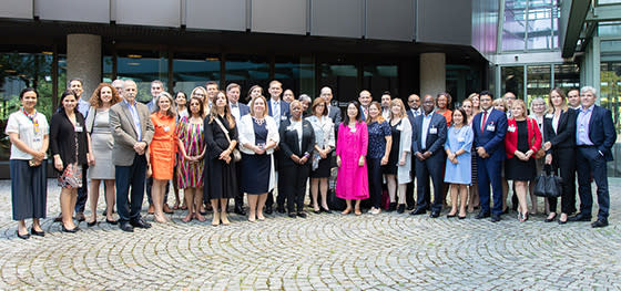 "IIB participated in the annual meeting of ""Ethics Network of Multilateral Organizations"""