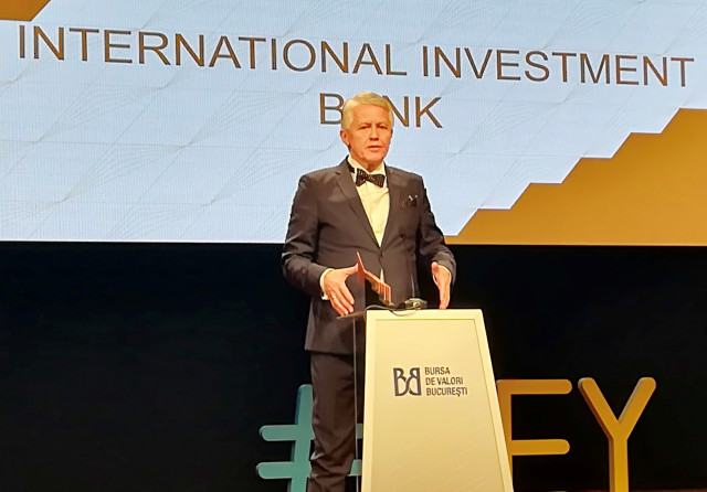 IIB receives another award for its contribution to the development of the national capital market of Romania