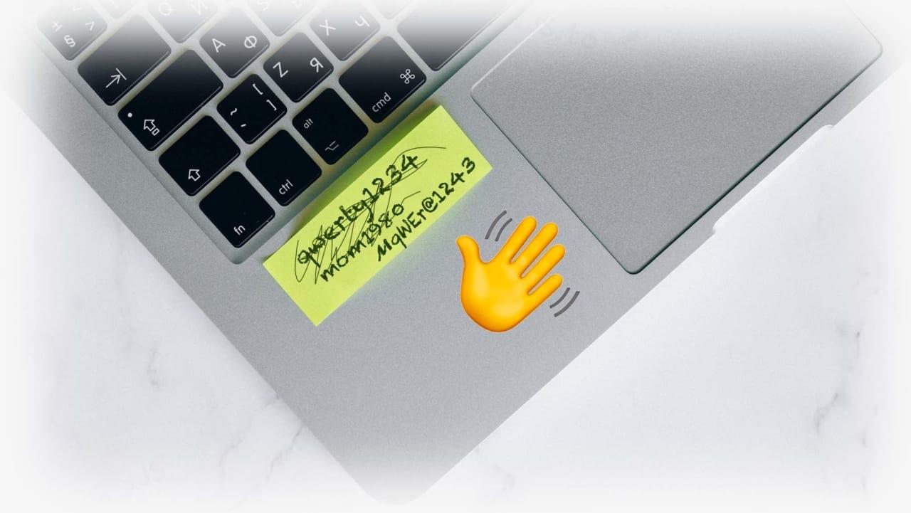 No more passwords on iJS!