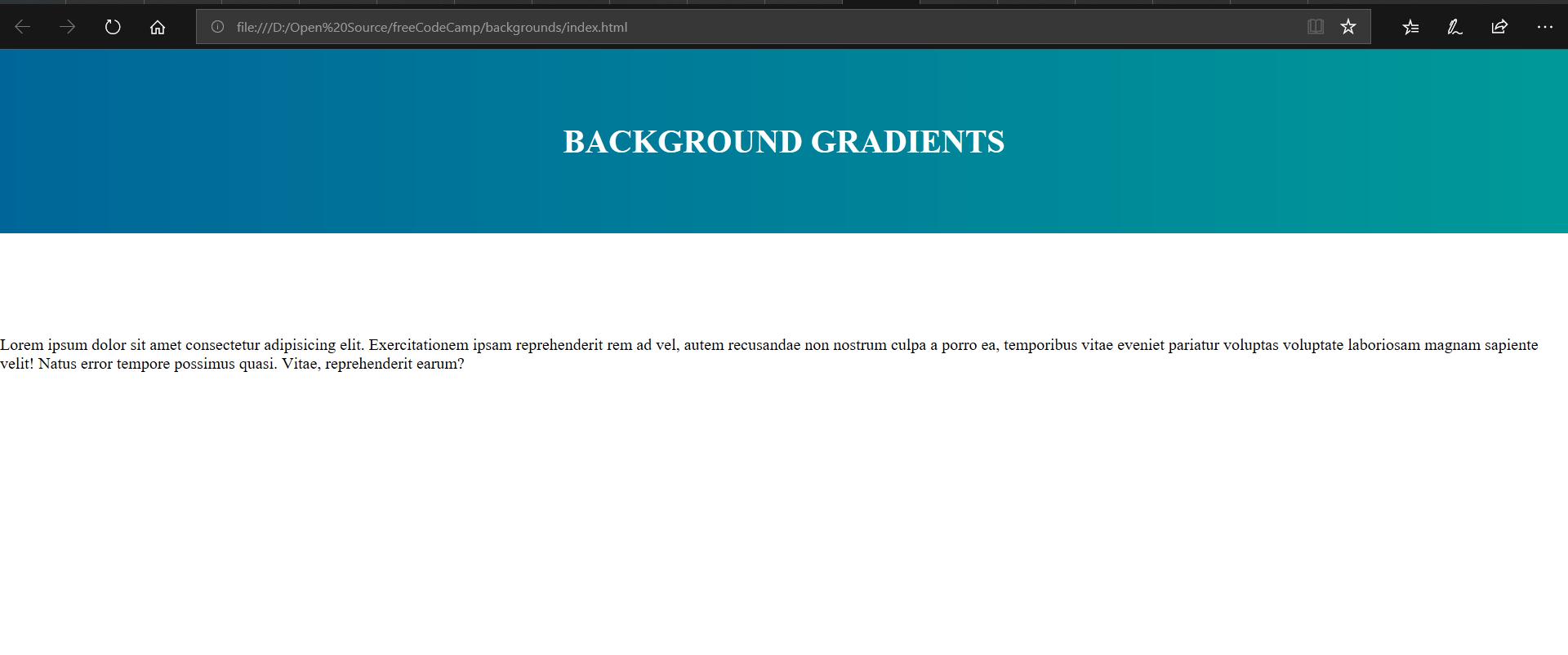 background gradient example image