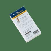 Fiberoptiske rensekort (5) hvert kort renser 12 fiberender