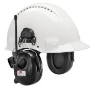 3M DAB+ FM-radio hørselvern hjelmfeste