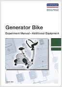 Experiment Manual for students: Generator Bike, english
