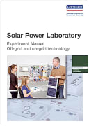 Experiment Manual for students: Solar Power Laboratory, engl