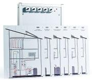 Kompaktmodell for oppvarmingskontroll