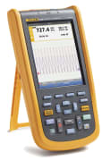 ScopeMeter® 2 kanaler, 20 MHz, Med programvare og bæreveske