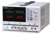 Programmerbar lineær DC strømforsyning 2x 0-30V, 0-3A, 1x5V