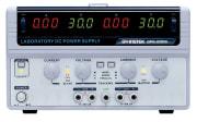 Lineær DC strømforsyning 2x 0-30V, 0-3A, 180W