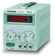 Lineær DC strømforsyning 0-30V, 0-3A, 90W