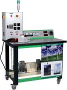 Vindturbin-simulator for studie av fornybar energi