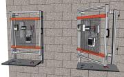 Rammeverk for montasjeplate/Montasjegitter