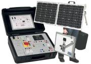 Solenergimodell med likeretter/vekselretter/lagring