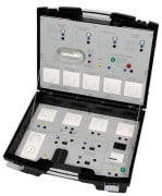 NETATMO byggautomatiseringsteknologi i koffert