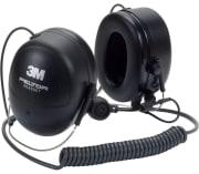 Headset med høy demping og J11-kontakt, nakkebøyle
