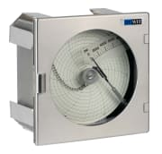 Pressure recorder De Wit model 4892SS, panel,mount 0-20000ps