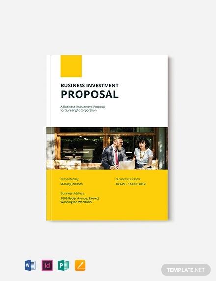 Desain Template Proposal Gratis