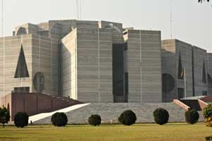 Spotlight - National Assembly Building - Bangladesh