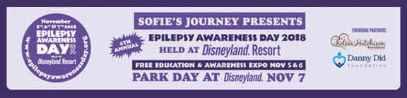 Epilepsy Awareness Day Disney 2018 banner