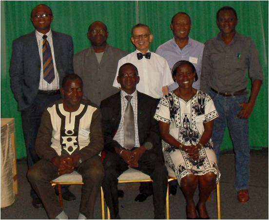 Executives of the new Commission on African Affairs