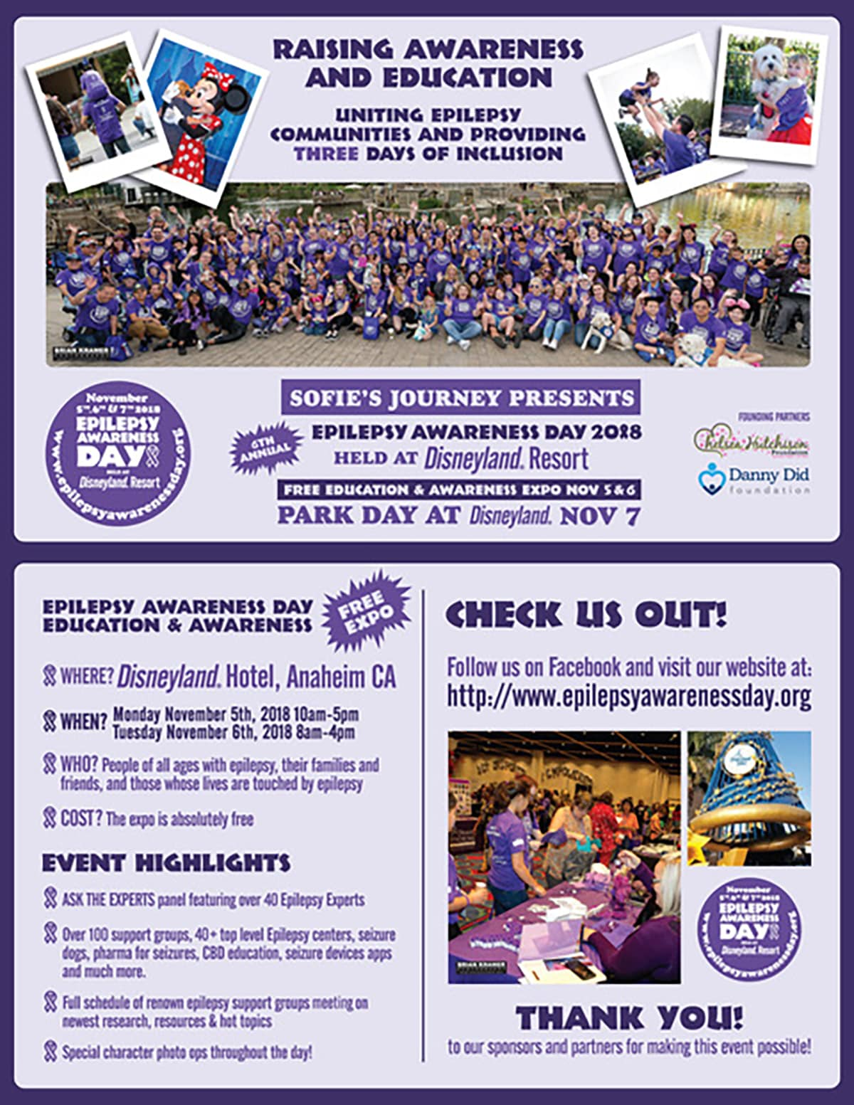 Epilepsy Awareness Day 2018 Flyer