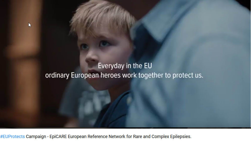 EpiCARE European Reference Network for Rare and Complex Epilepsies: #EUProtects Campaign