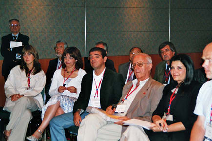 Participants at the 2007 Educational Workshop in Singapore