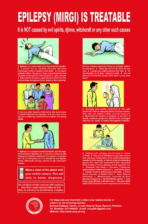 Spotlight - Epilepsy Awareness Poster - Pakistan
