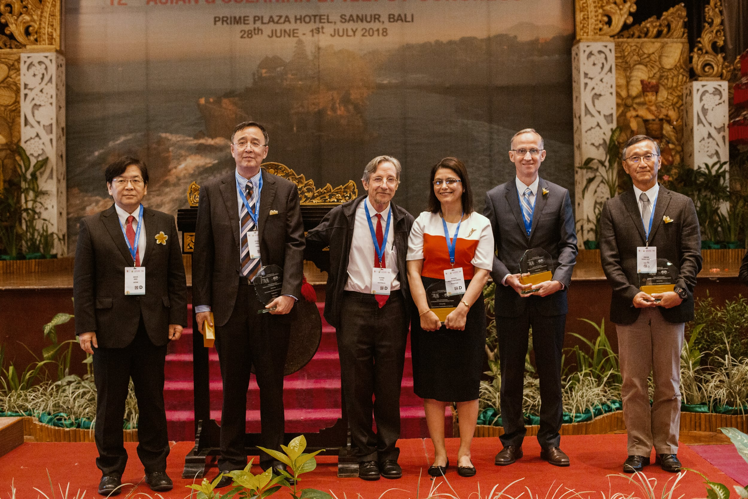 Recipients of Asian and Oceanian Outstanding Epilepsy Award Winners at the 12th AOEC