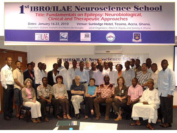 1st IBRO - ILAE Neuroscience School 2010