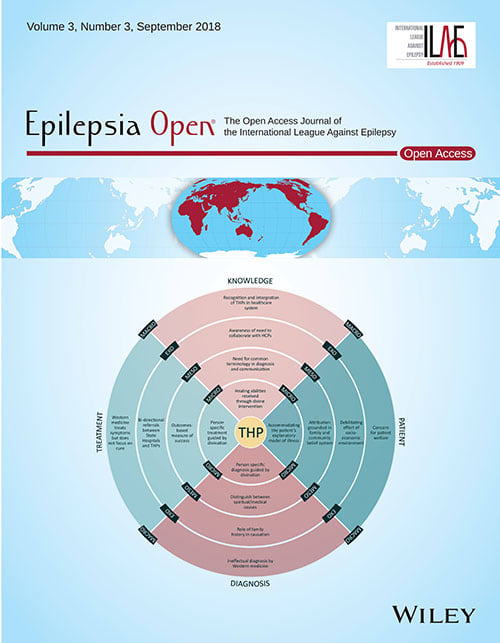 Epilepsia Open Cover September 2018
