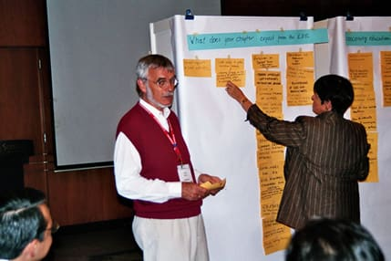Participants at the 2007 Educational Workshop in Singapore.