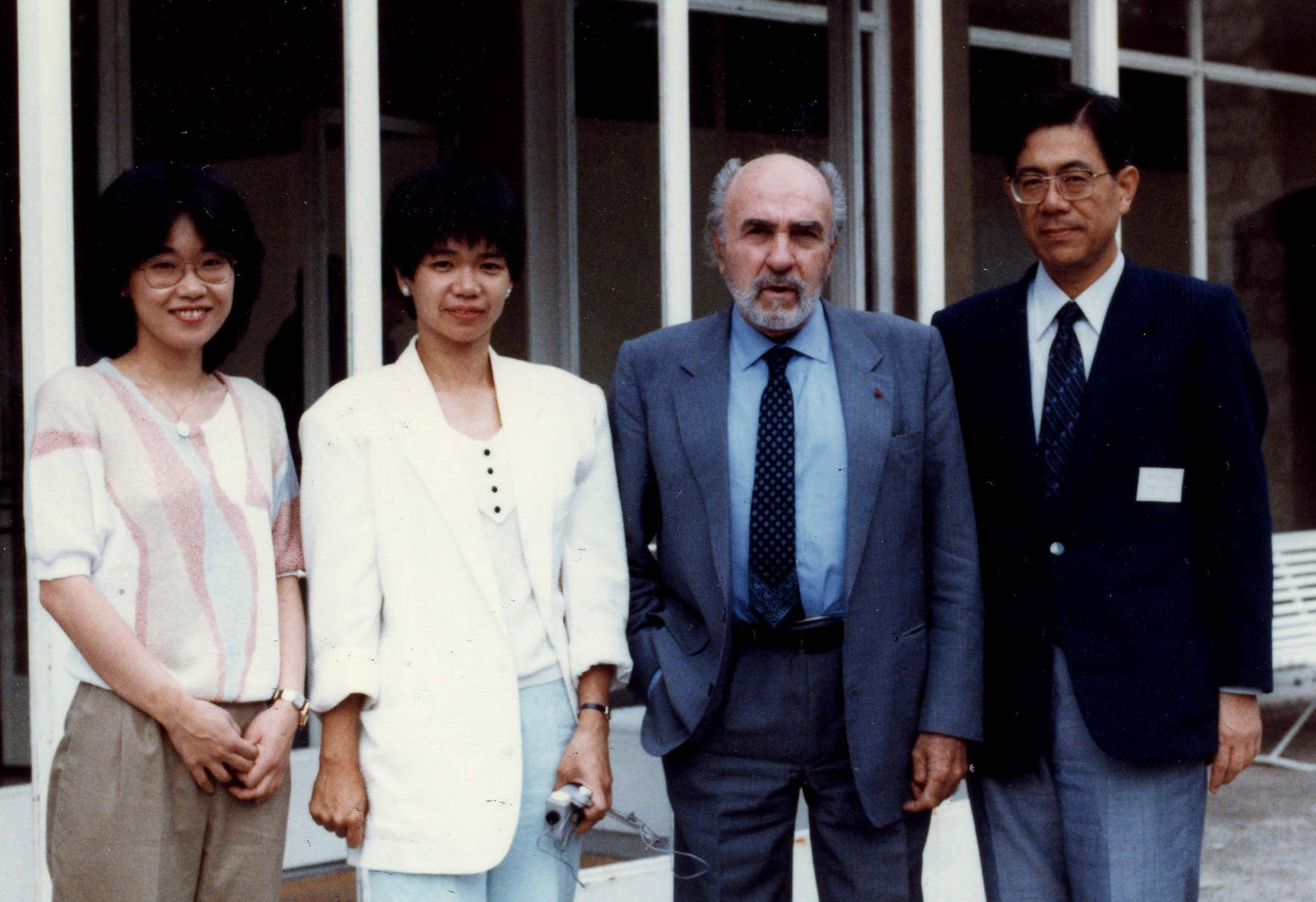 Drs. Murakami, Yoshinaga, Gastaut, and Ohtahara