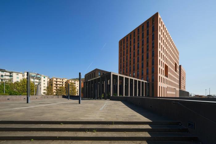 Cittadella Giudiziaria di Salerno, Arch. David Chipperfield