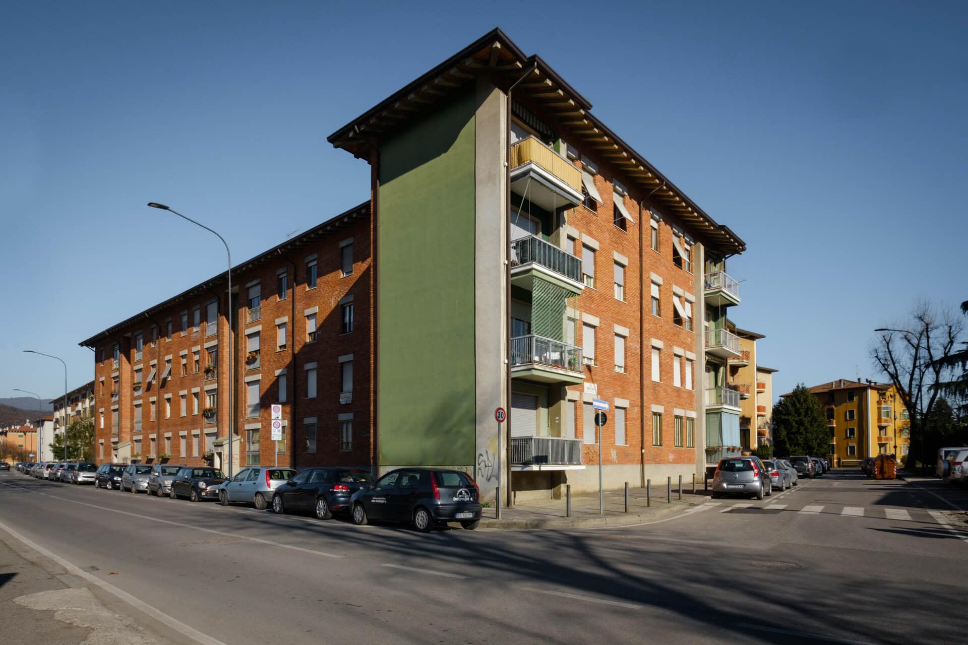 Quartiere INA Casa - Brescia