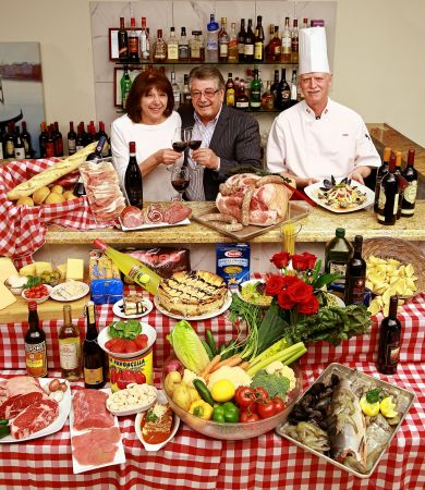 Sal Monna, Anna Maria Monna, authentic Italian home cooking Airdrie