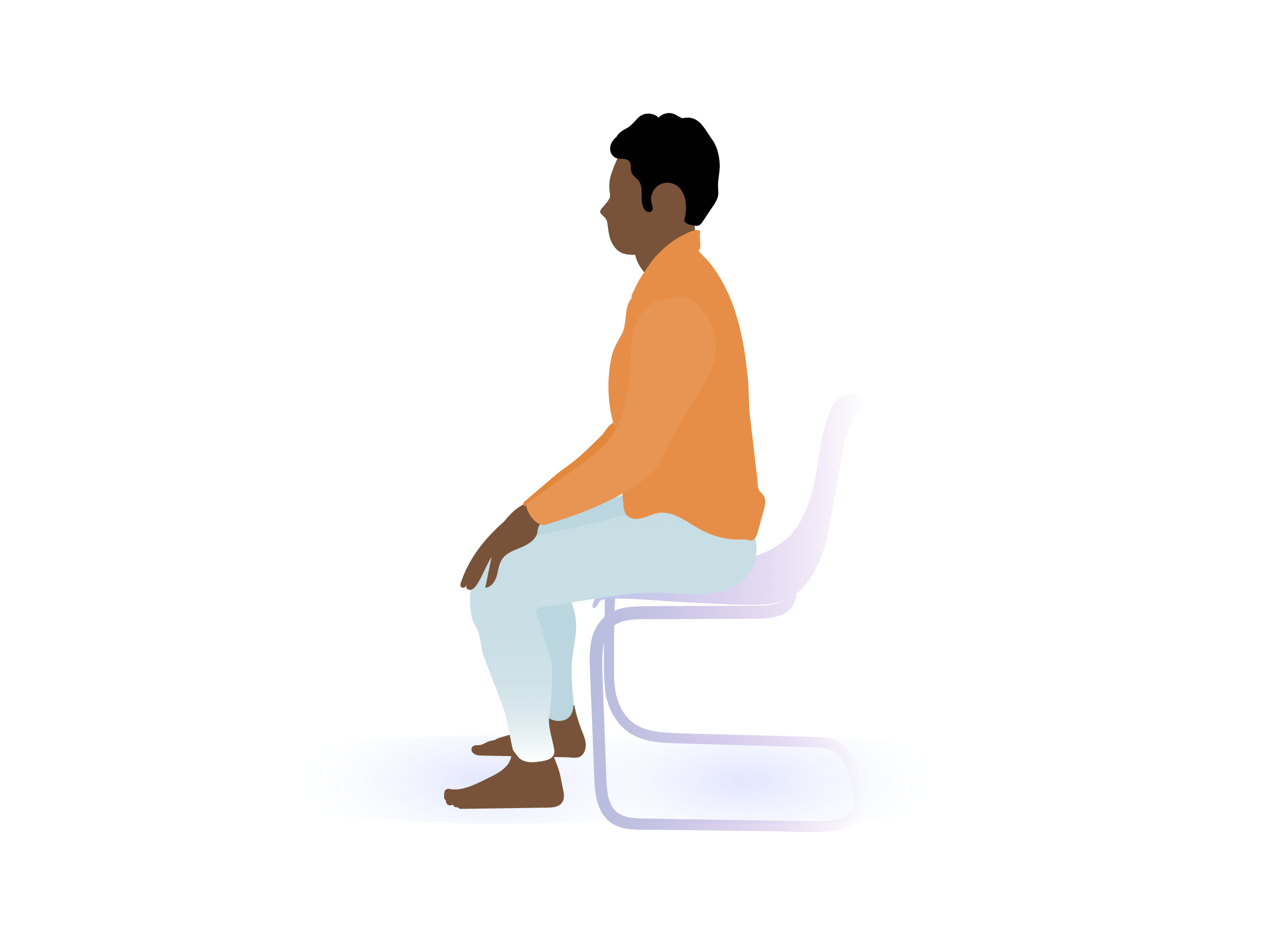 Sitting Straight Can Help Relieve SI Joint Pain
