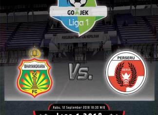 Bhayangkara FC vs Perseru